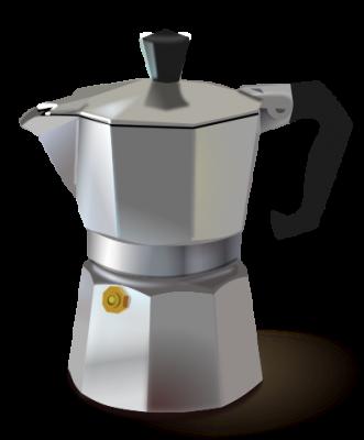 موکاپات(ظرف تهیه قهوه اسپرسو در خانه))