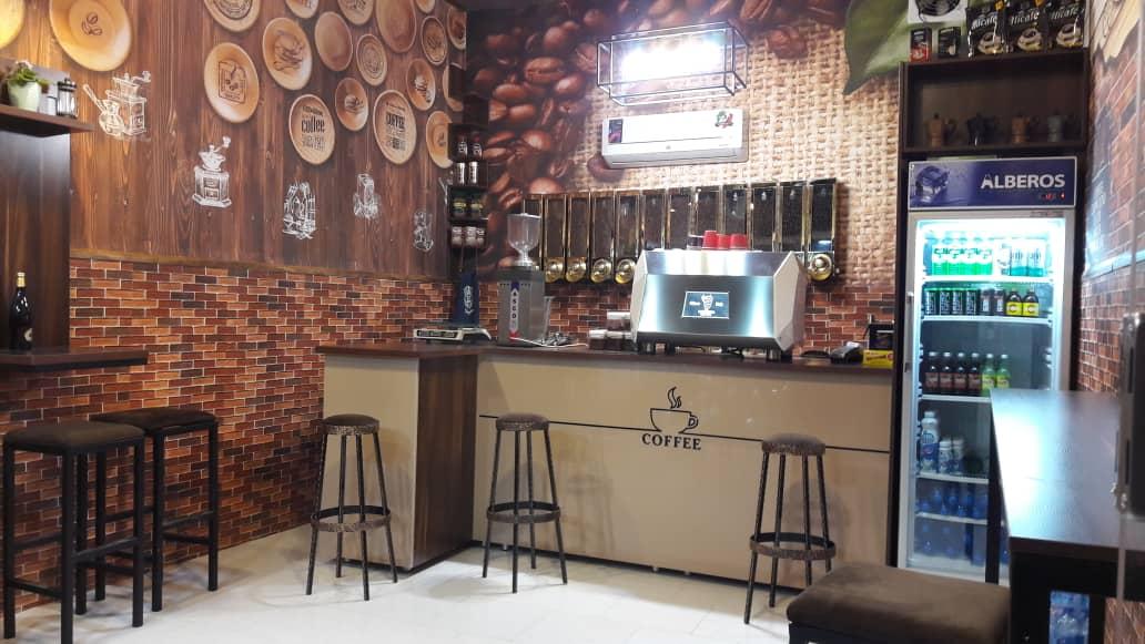 مغازه قهوه فروشی