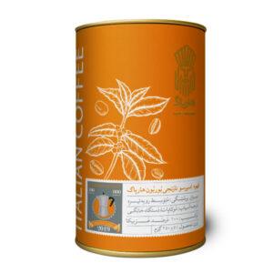 قهوه اسپرسو بوربن نارنجی