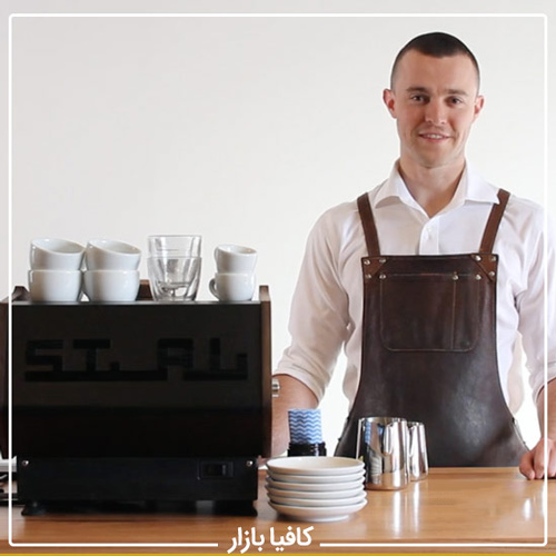 تجهیزات و لوازم کافه - اپرون تن باریستا