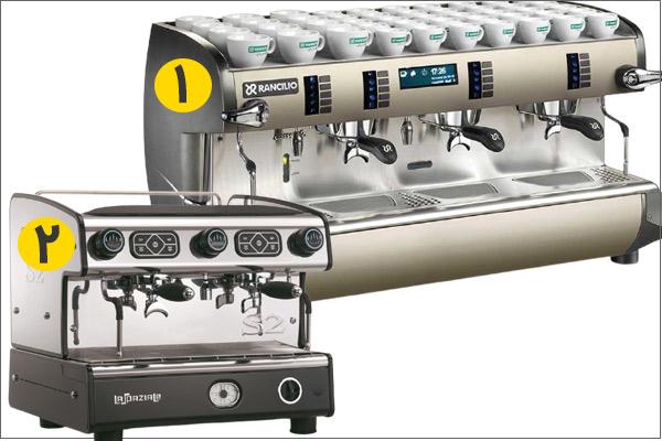 انتخاب دستگاه برای کافه لاکچری و رقابت با کافه ها